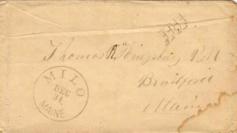 1861 Envelope