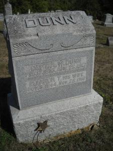 Capt. Amos Dunn's Headstone